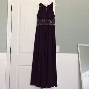 David's Bridal Floor Length Gown size 4